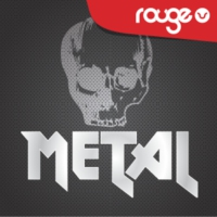 Logo of radio station Rouge Metal