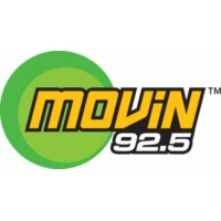 Logo of radio station KQMV 92.5 FM