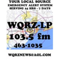 Logo of radio station WQRZ-LP