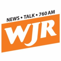 Logo of radio station WJR 760 AM