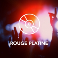 Logo of radio station Rouge Platine