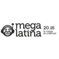 Logo of radio station Mega Latina 104.4 FM