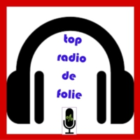 Logo of radio station top radio de folie