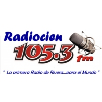 Logo of radio station Radio Cien