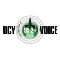 Logo of radio station UCY Voice 95.2FM