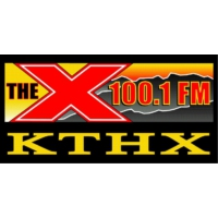 Logo of radio station KTHX The X