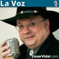 Logo of the podcast La Voz de César Vidal