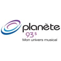 Logo of radio station Planète 93.5