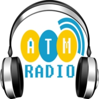 Logo of radio station ATM RADIO