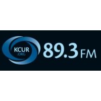 Logo of radio station KCUR