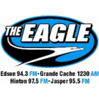 Logo of radio station CFXE