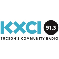 Logo of radio station KXCI 91.3 FM