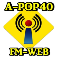Logo of radio station A POP40-FM-WEB
