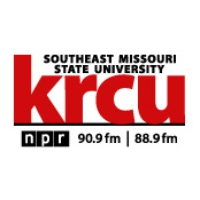Logo of radio station KRCU Southeast Public Radio NPR