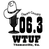 Logo of radio station WTUF 106.3 FM