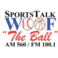 Logo de la radio WOOF The Ball 560