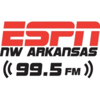 Logo of radio station ESPN Radio 99.5
