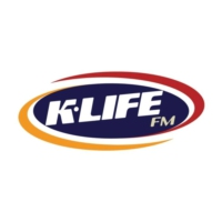 Logo of radio station KLFF K-Life FM