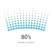 Logo of radio station 80's NewMix Radio
