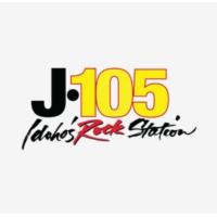 Logo of radio station KJOT J-105