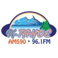 Logo of radio station KTHO K-Tahoe 96.1 FM