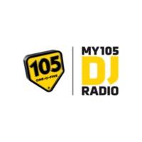 Logo de la radio my105 DJ Radio