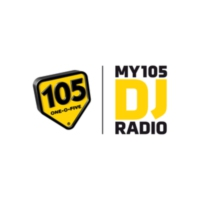 Logo of radio station my105 DJ Radio