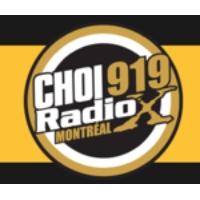 Logo of radio station CHOI 919 Radio X
