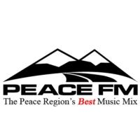 Logo of radio station Peace FM