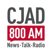 Logo of radio station CJAD 800 Montreal