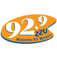 Logo of radio station 92.9 KZZU