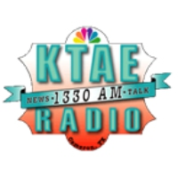 Logo of radio station KTAE