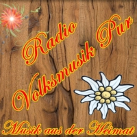 Logo of radio station Volksmusik Pur