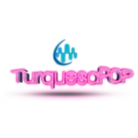 Logo of radio station XHCANQ Turquesa POP 102.7 FM