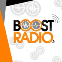Logo of radio station BoostRadio