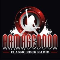 Logo of radio station ARMAGEDDON