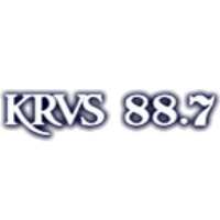 Logo of radio station KRVS Radio Acadie 88.7