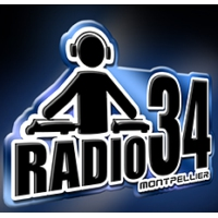 Logo of radio station Radio 34 Montpellier