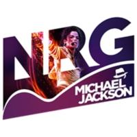 Logo of radio station NRG Michael Jackson
