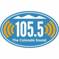 Logo of radio station KJAC 105.5 The Colorado Sound