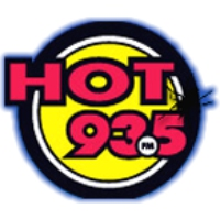 Logo of radio station Hot 93.5