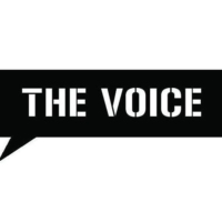 Logo of radio station The Voice