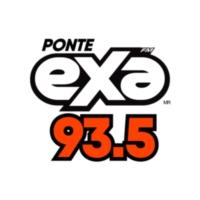 Logo of radio station XHNY Exa FM 93.5