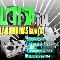 Logo de la radio Latina 104 FM