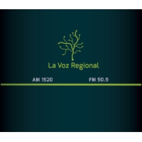 Logo of radio station La Voz Regional