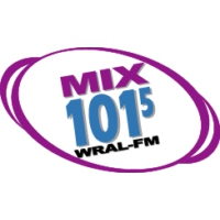 Logo of radio station WRAL - Mix 101.5