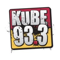 Logo of radio station KUBE 93.3
