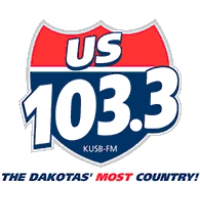 Logo of radio station KUSB US Country 103.3