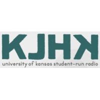 Logo of radio station KJHK University of Kansas