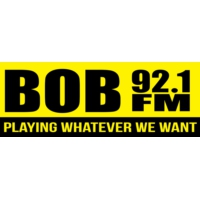 Logo of radio station KBBO BOB 92.1